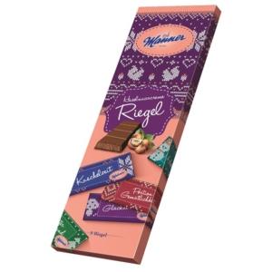 Manner Mogyorókrémes Karácsonyi Csokoládé Szeletek 330g