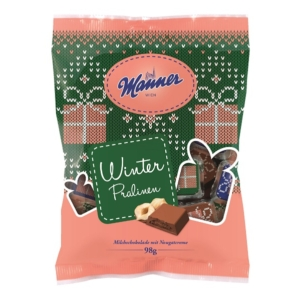 Manner Téli Csokoládé Praliné 98G