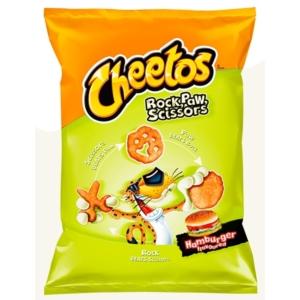 Lays Cheetos 85G Rock Paw Scissors Hamburger