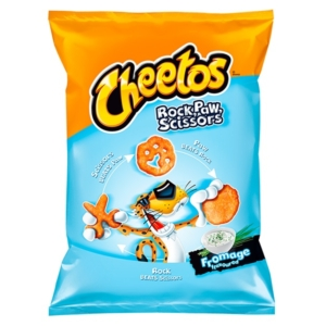 Lays Cheetos 85G Rock Paw Scissors Fromage