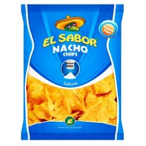 El Sabor 100G Nacho Chips Só /734/