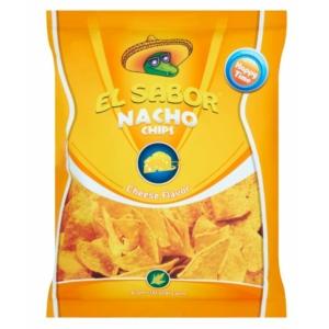 El Sabor 100G Nacho Chips Sajtos /735/