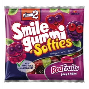 Nimm2 Smilegummi 90G Softies Red Fruit