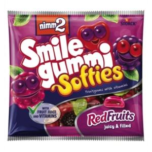 nimm2 Smilegummi Softies gyümölcs ízű gumicukorka 90 g