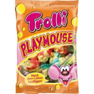 Trolli Playmouse gyümölcs ízű gumicukor 100G
