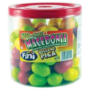 Fini Mega Chicle Macedónia Gyümisali 18G /10081/