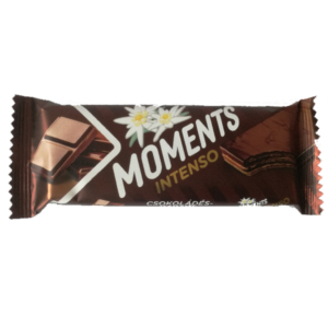 Moments Csokoládés-kakaós krémmel töltött kakaós ostyaszelet ,kakaós bevonómasszában 40G