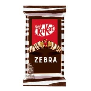 Kit-Kat Zebra Ropogós ostya étcsokoládéban és fehér csokoládéban 41.5G