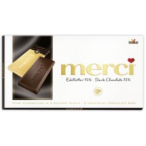 Merci 100G Edelbitter 72% Dark Chocolate