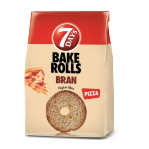 Chipita Bake Rolls BRAN Pizzás 80G
