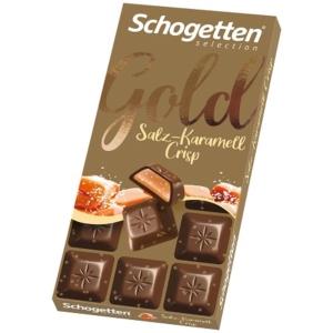 Schogetten 100G Gold Tejcsokoládé Sóskaramellel