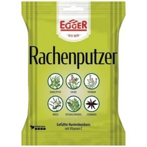 Egger 75G Rachenputzer Torokcukor C-vitaminnal+6féle Gyógynövénnyel