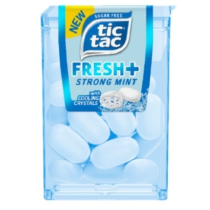 Tic-Tac 11,9G T16 Fresh+ Strong Mint