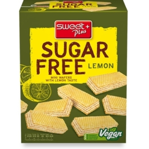 Sweet+Plus 180G SugarFree Citromos Ostya