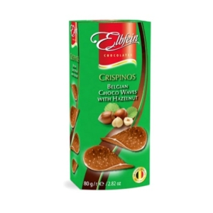 Elbfein Csoki Chips Mogyorós Tejcsokoládé 80G