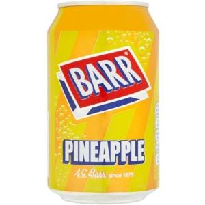 BARR 330ML Pineapple