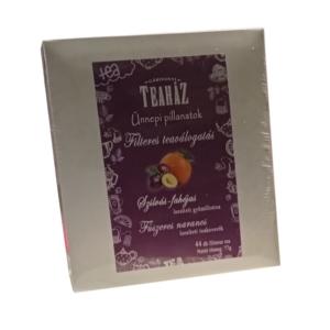 Gárgonyi Teaház szilvás-fahéjas és fűszeres naracs teafilterek 77 g (44 filter)