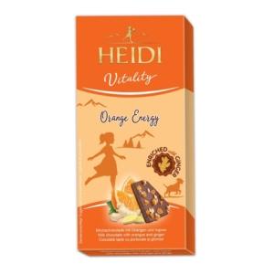 Heidi 80G Vitality Milk Orange&Ginger 414012