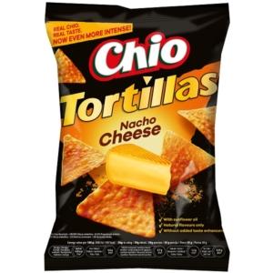 Chio 125G Tortilla Chips Nacho Chesse