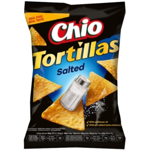 Chio 125G Tortilla Chips Salt