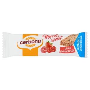Cerbona áfonyás-joghuros müzliszelet 20 g