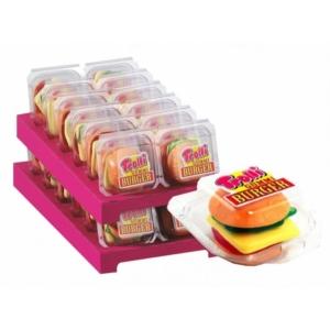 Trolli Miniburger 12X50G Műanyag Tálcás