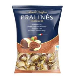 Maitre T. Duo Praliné mogyorókrémmel töltött tej és fehércsokoládé praliné 125G