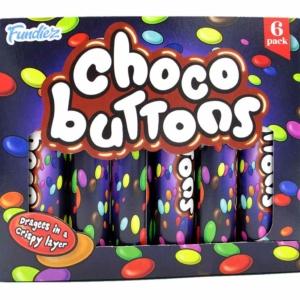 Fundiez Choco Buttons Action Csokoládé Drazsé 6*25G 150G
