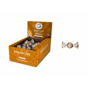Narancscsók Marcipán Ízű Kandírozott Narancs Étcsokoládé 25G