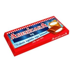 Americana 90G Kakaós Tejtábla Tej Ízű Krémmel Töltve