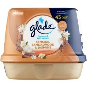 Glade 180G Fürdőszobai Légfrissítő Zselé Sensual Sandalwood&Jasmin