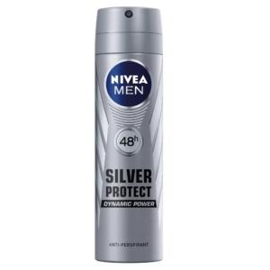 Nivea Men Deo Spray 150ML Silver Protect