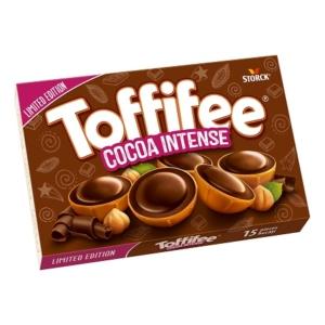 Toffifee Cocoa Intense mogyoró karamellben csokoládés nugátkrémmel 125G