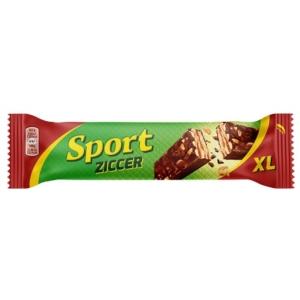 Sport étcsokoládéval mártott rumos ízű kakaós szelet 49g (XL)