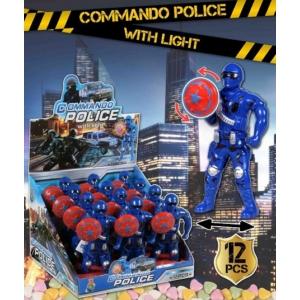 Commando Police With Light 36G (861)