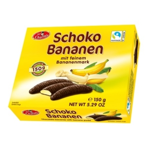 Sir Charles Schoko Bananen Csokoládé 150G