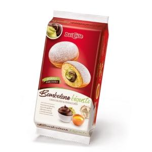 Dal Colle 240G Bombolone Csokis-Pisztáciás Sütemény