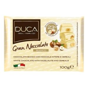 Duca 100g Gran Nocciolato Bianco Fehér