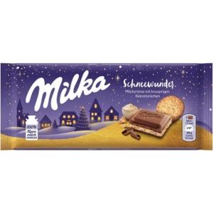 Milka 100G Winter Biscuit