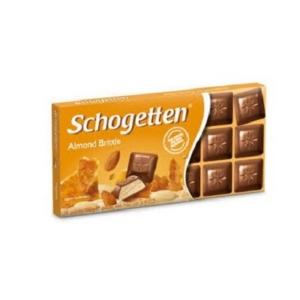 Schogetten 100G It's Time Tejcsokoládé Roppanós Mandula