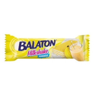Balaton Milkshake banán ízesítésű ostya 31G