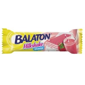 Balaton Milkshake málna ízesítésű ostya 31G