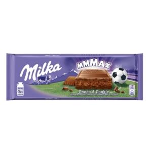 Milka Choco Cookie csokoládéval és kekszdarabokkal töltött csokoládé 300G