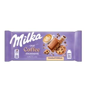 Milka Kávés Sütis Csokoládé 100G