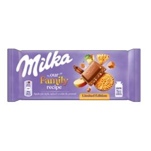 Milka 90G Apple Pie