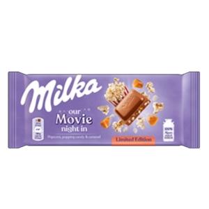 Milka 90G Popcorn Popping Candy