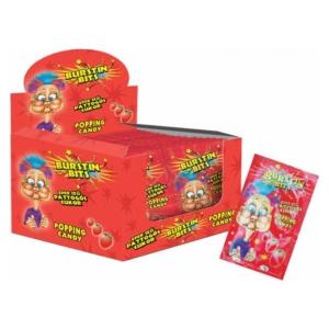 Burstin Bits Popping Candy 7G Eper