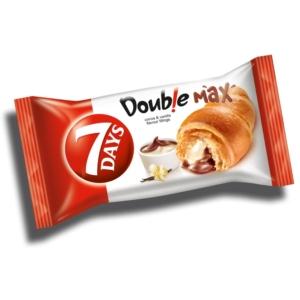 7 Days Double kakaó-vanília ízű töltelékkel töltött croissant 80G