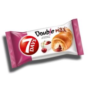 7 Days Croissant Double 80G Vanília-Meggy