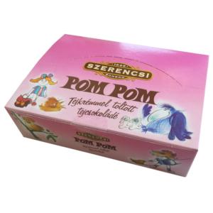 Szerencsi Pom Pom tejkrémmel töltött tejcsokoládé 20G